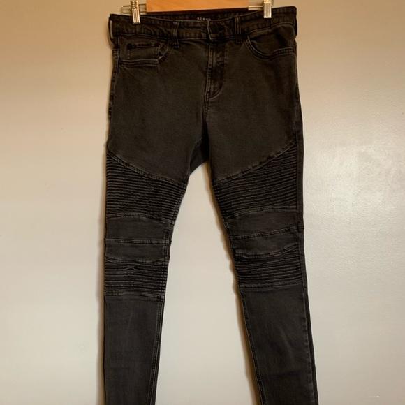 78949c66 Jeans | Bullhead Black Pacsun Motto Biker | Poshmark